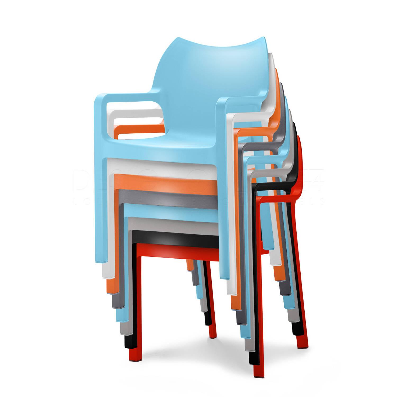 24designs tuinstoel diva 8 stoelen mix aanbieding