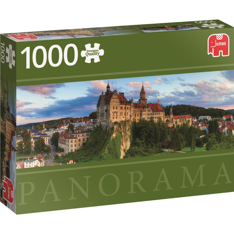 Jumbo Premium Collection Puzzel Sigmaringen Castle - Legpuzzel - 1000 stukjes