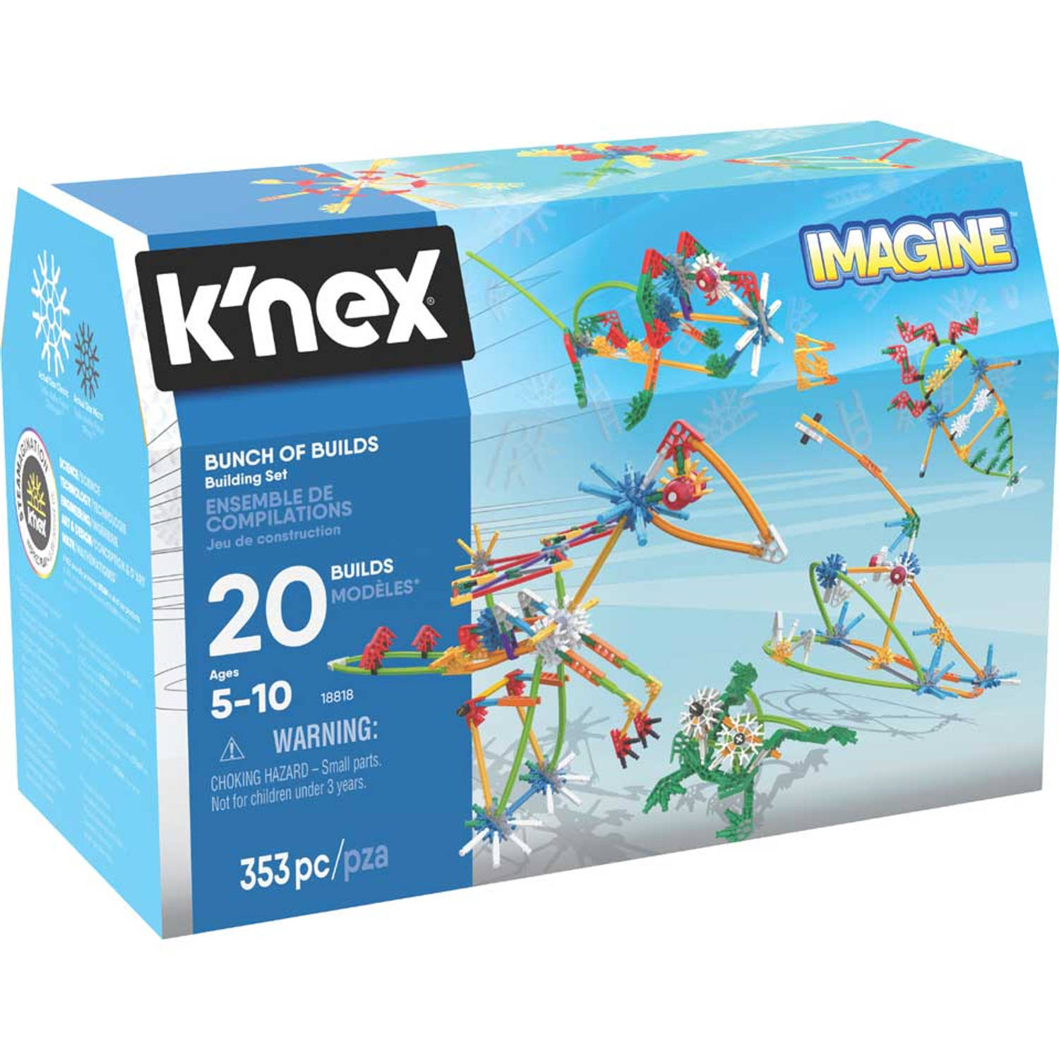 K'NEX Imagine Build a Bunch bouwset