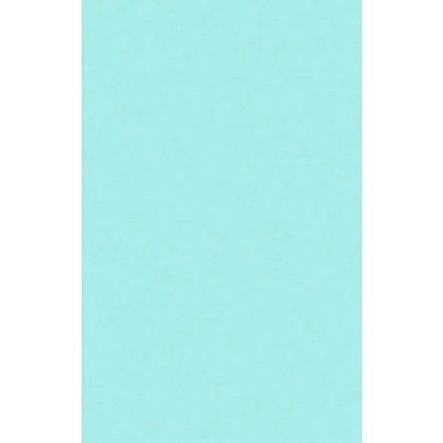 Mintblauw tafellaken/tafelkleed 138 x 220 cm herbruikbaar