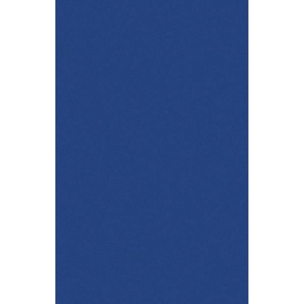 DONKERBLAUW TAFELLAKEN/TAFELKLEED 138 X