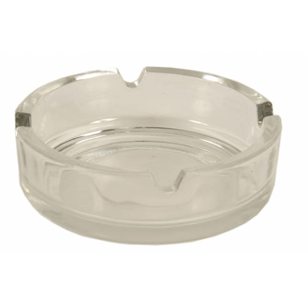 Glazen asbak 10.5 cm