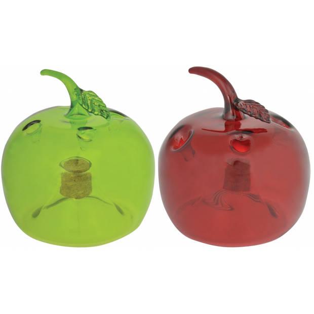 Fruitvliegjesval rode appel 9,5 cm