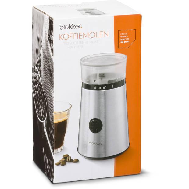 Blokker koffiemolen BL-30002 - RVS