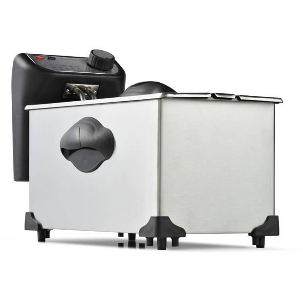 Blokker friteuse 3 liter BL - 91001 - RVS