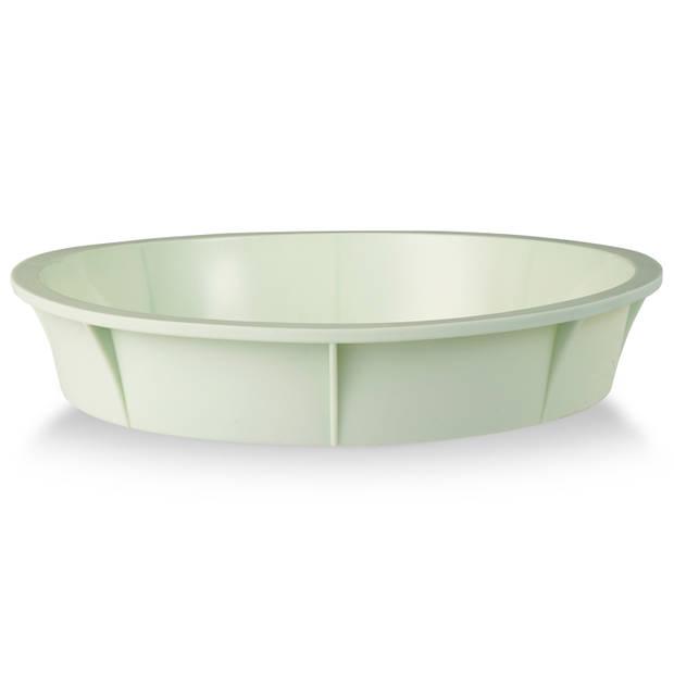 Blokker taartvorm - siliconen - ø 25 cm - groen