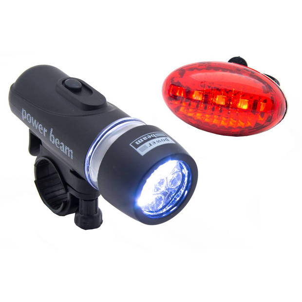 BICYCLE GEAR FIETSVERLICHTING SET 5 LED
