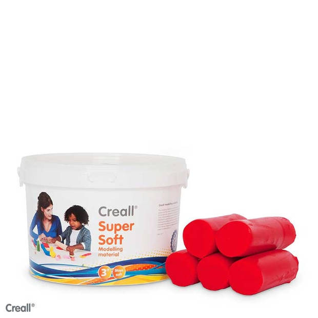 CREALL SUPERSOFT KLEI ROOD