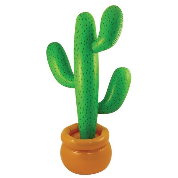 Opblaasbare mega cactus 170 cm - Zomer feestartikelen