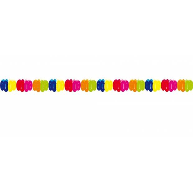 Papieren verjaardag slingers 60 jaar feestartikelen/versieringen