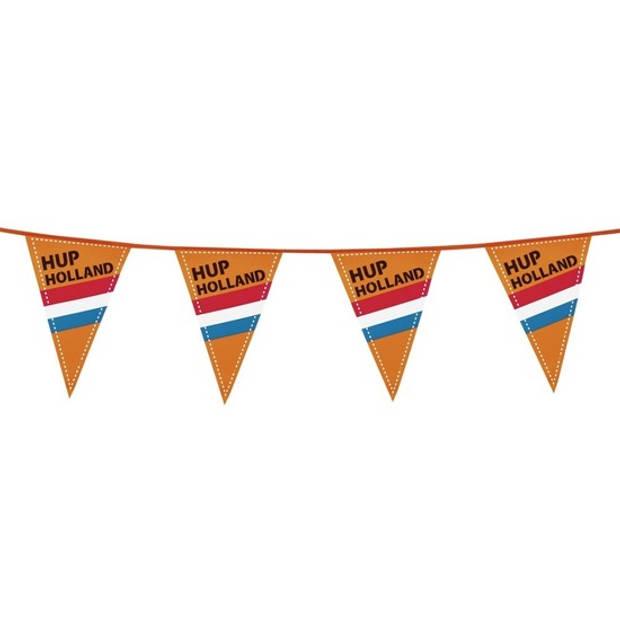 5x Hup Holland vlaggenlijn / slinger extra lang 6 meter