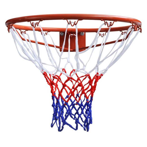 vidaXL Basketbalringset met net 45 cm oranje