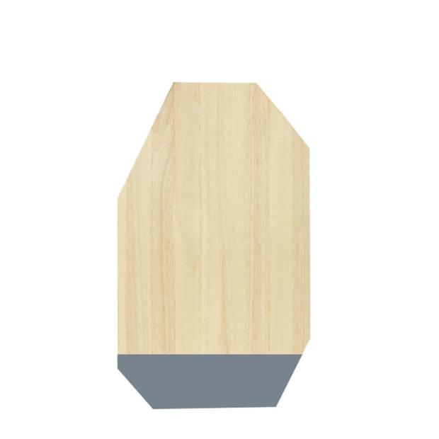 Snijplank Dippo - Rubberhout - Grijs - TAK Design