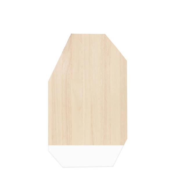 Snijplank Dippo - Rubberhout - Wit - TAK Design