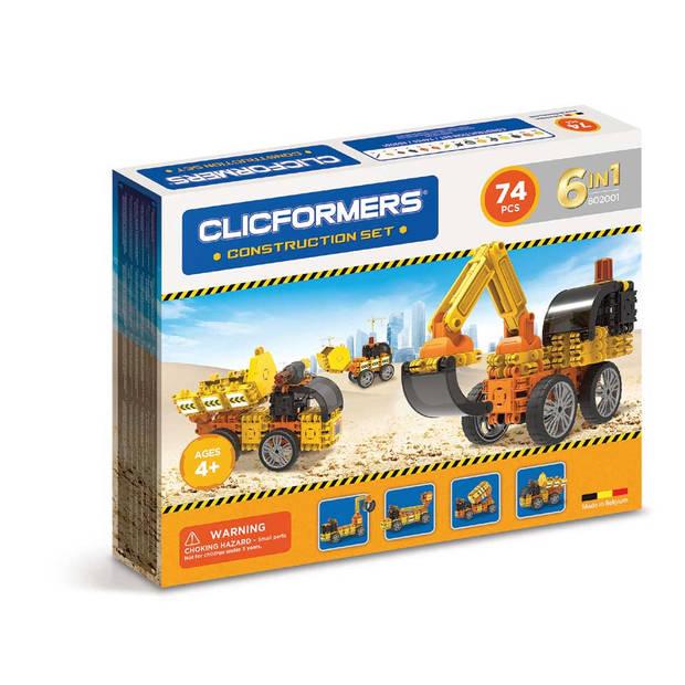 CLICFORMERS - BOUW SET - 74 ST
