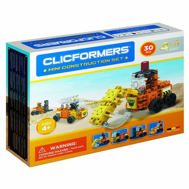 CLICFORMERS - BOUW MINI SET - 30 ST