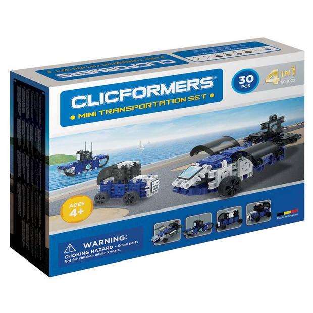 CLICFORMERS - TRANSPORT MINI SET - 30 ST