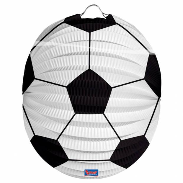 Voetbal lampion 22 cm