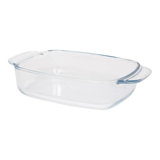 Blokker ovenschaal - glas - 26,5 x 17 cm