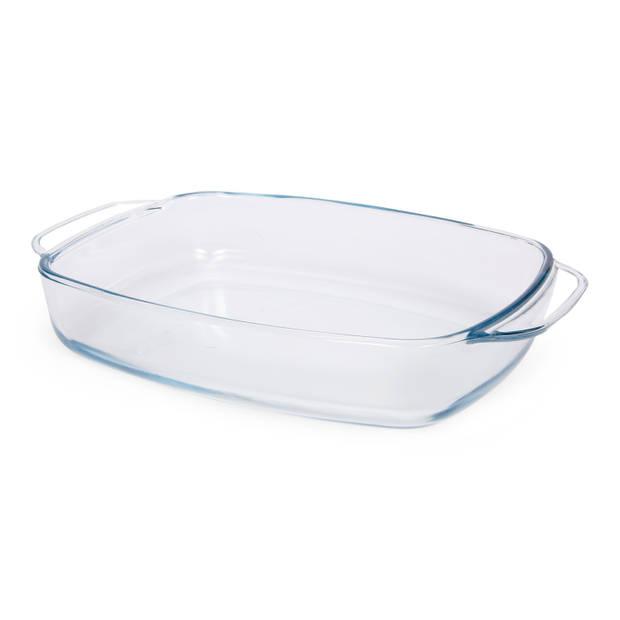 Blokker ovenschaal - glas - 33,5 x 21,5 cm