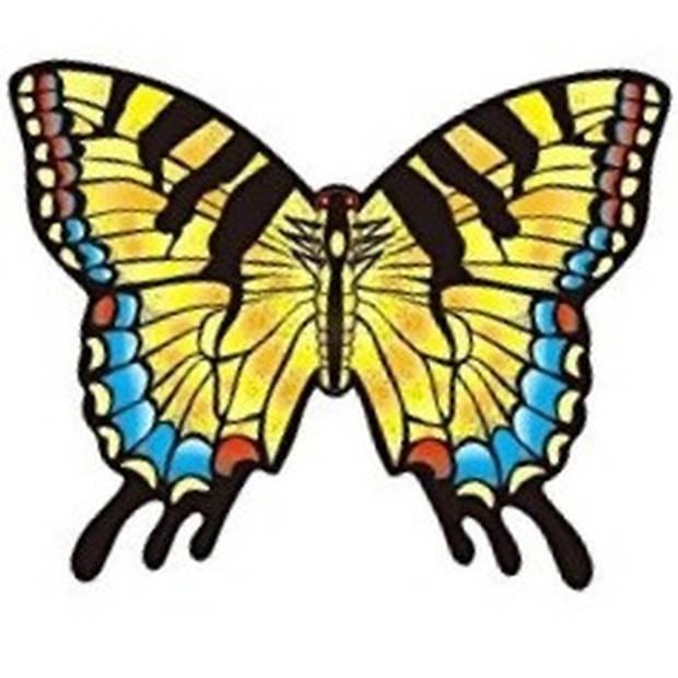 Koninginnepage vlinder vlieger 70 x 48 cm