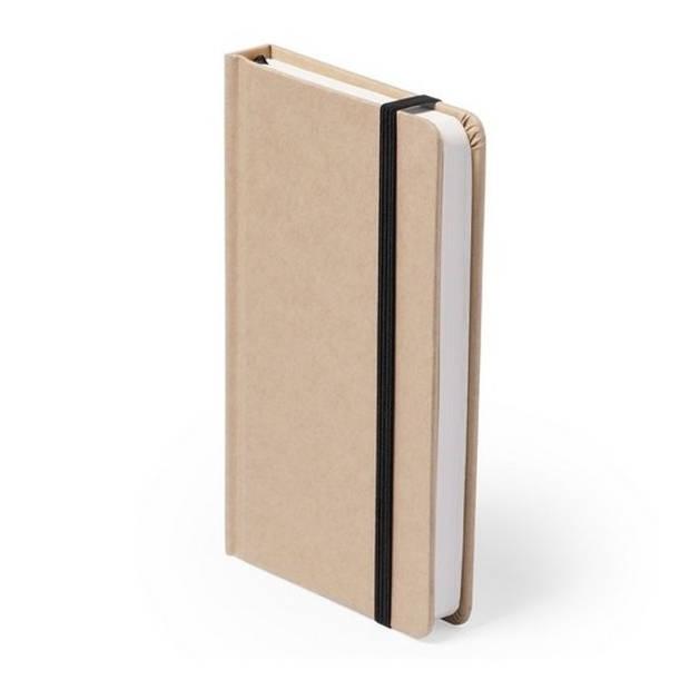 A6 notitie schriften met zwart elastiekje - notitieboekjes - opschrijfboekjes