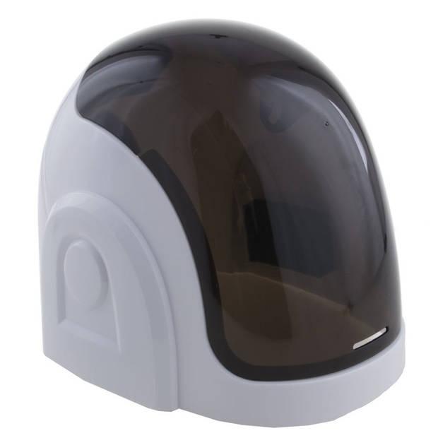 Verkleedaccessoires astronautenhelm wit - Witte ruimte helm voor volwassenen