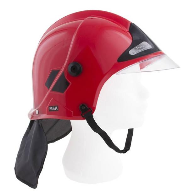Brandweermannen helm voor kinderen - Rode brandweerhelm