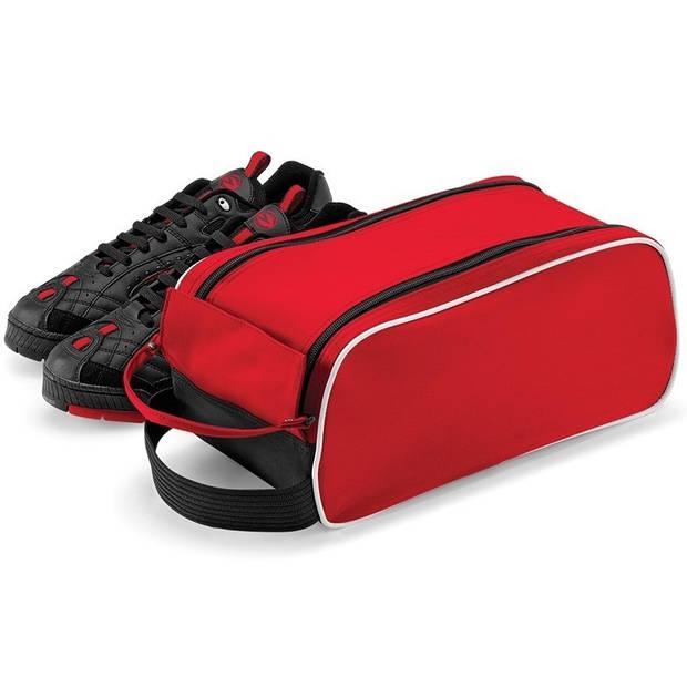 Rode schoenentas 9 liter