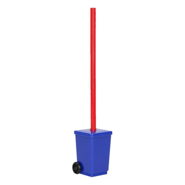 Blauwe rolcontainer puntenslijper - vuilnisbak potloodslijpers