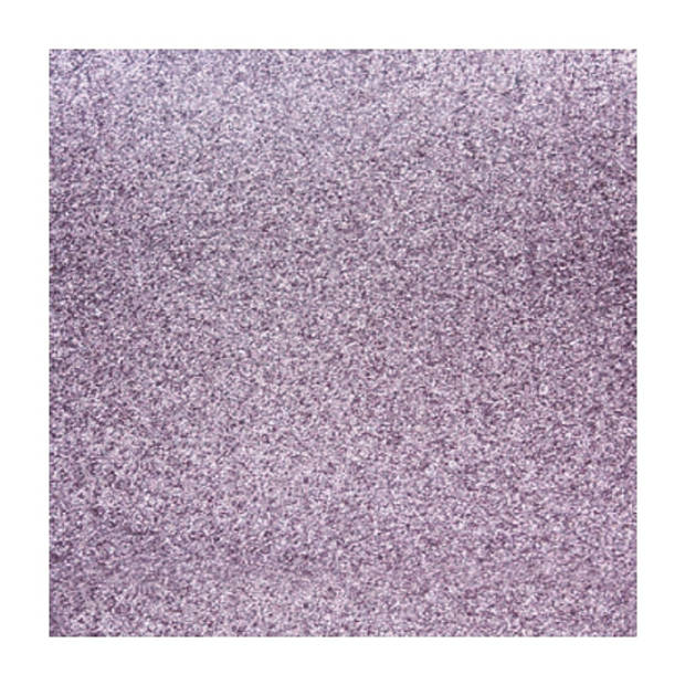 1x stuks lila paarse glitter papier vellen 30.5 x 30.5 cmm - Hobby scrapbooking artikelen