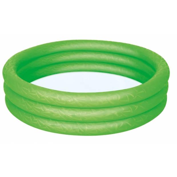 Groen mini zwembad opblaasbaar