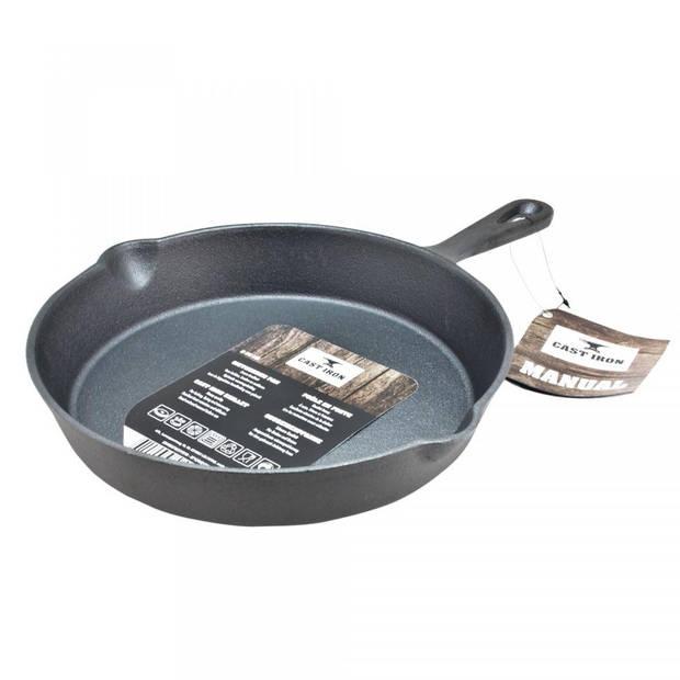Koekenpan - gietijzer - ø 25 cm