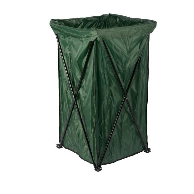 Lifetime Garden opvouwbare tuinafvalbak - tuinafvalzak groen - pop-up - 45x45x88cm