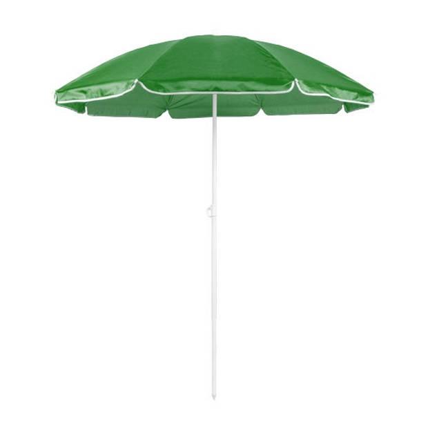 Verstelbare strand/tuin parasol groen 150 cm - Zonbescherming - Voordelige parasols