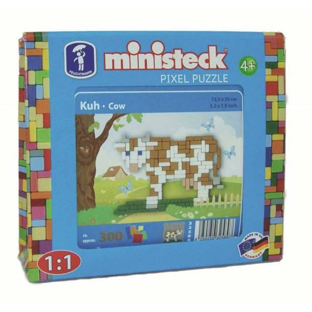Ministeck boerderij koe reisset - 350 stukjes