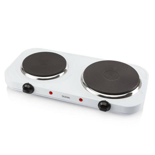 Blokker elektrische kookplaat 2-pits BL-16201