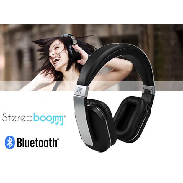 Stereoboomm Koptelefoon HP600 BT aluminium / zwart - bluetooth
