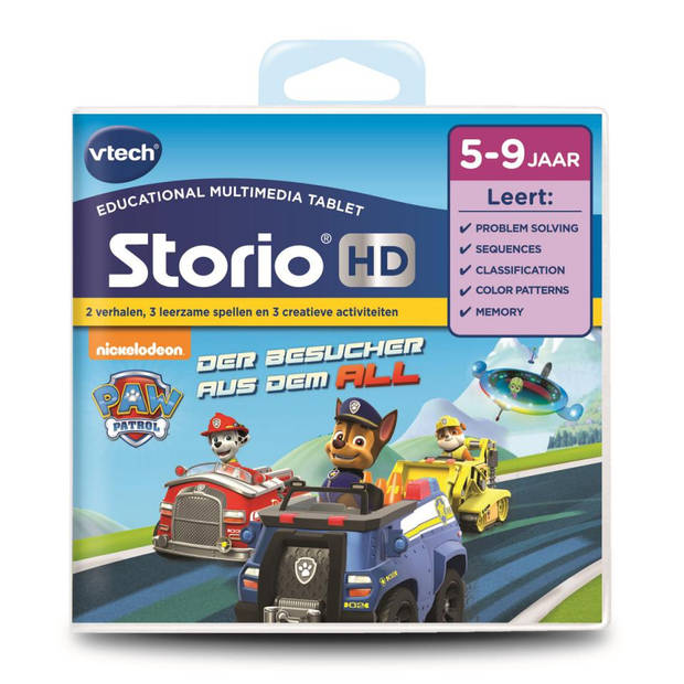 VTech Storio Max XL 2.0 - blauw - inclusief Paw Patrol spel