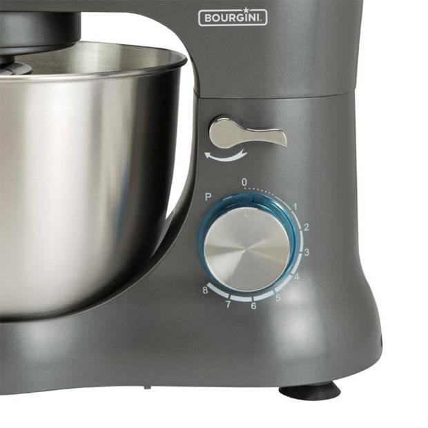 Bourgini keukenmachine Compact Kitchen Chef Grey