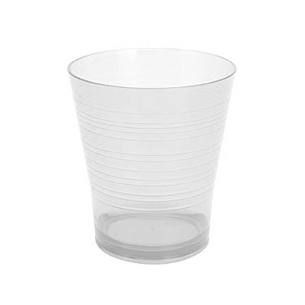 Beker glas transparant 350 ml drinkglazen