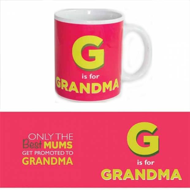 Koffie mok Grandma