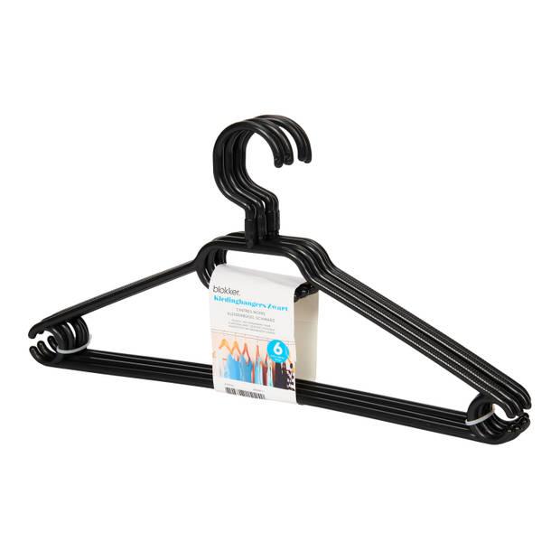 Blokker Kledinghangers Plastic Set Van 6
