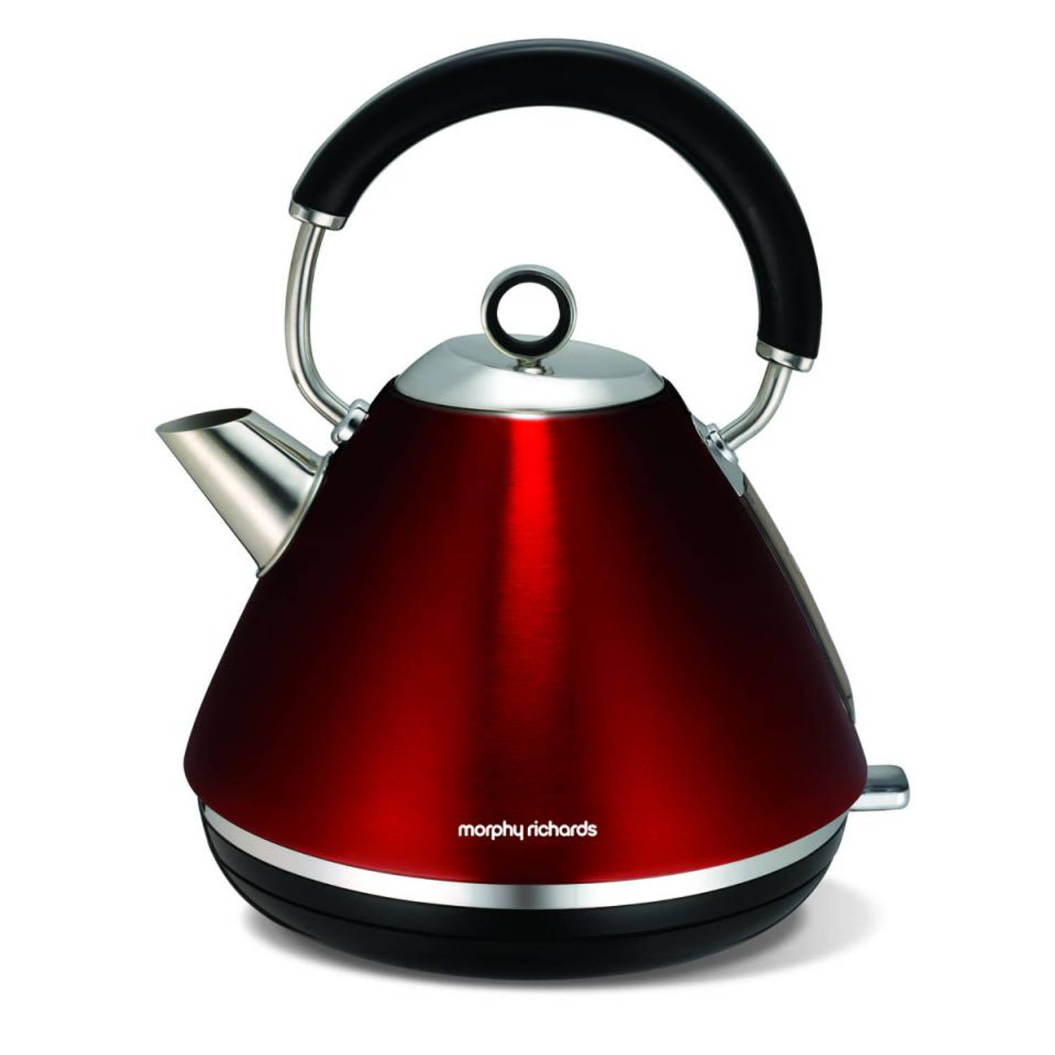 Morphy Richards waterkoker Retro Accents - rood