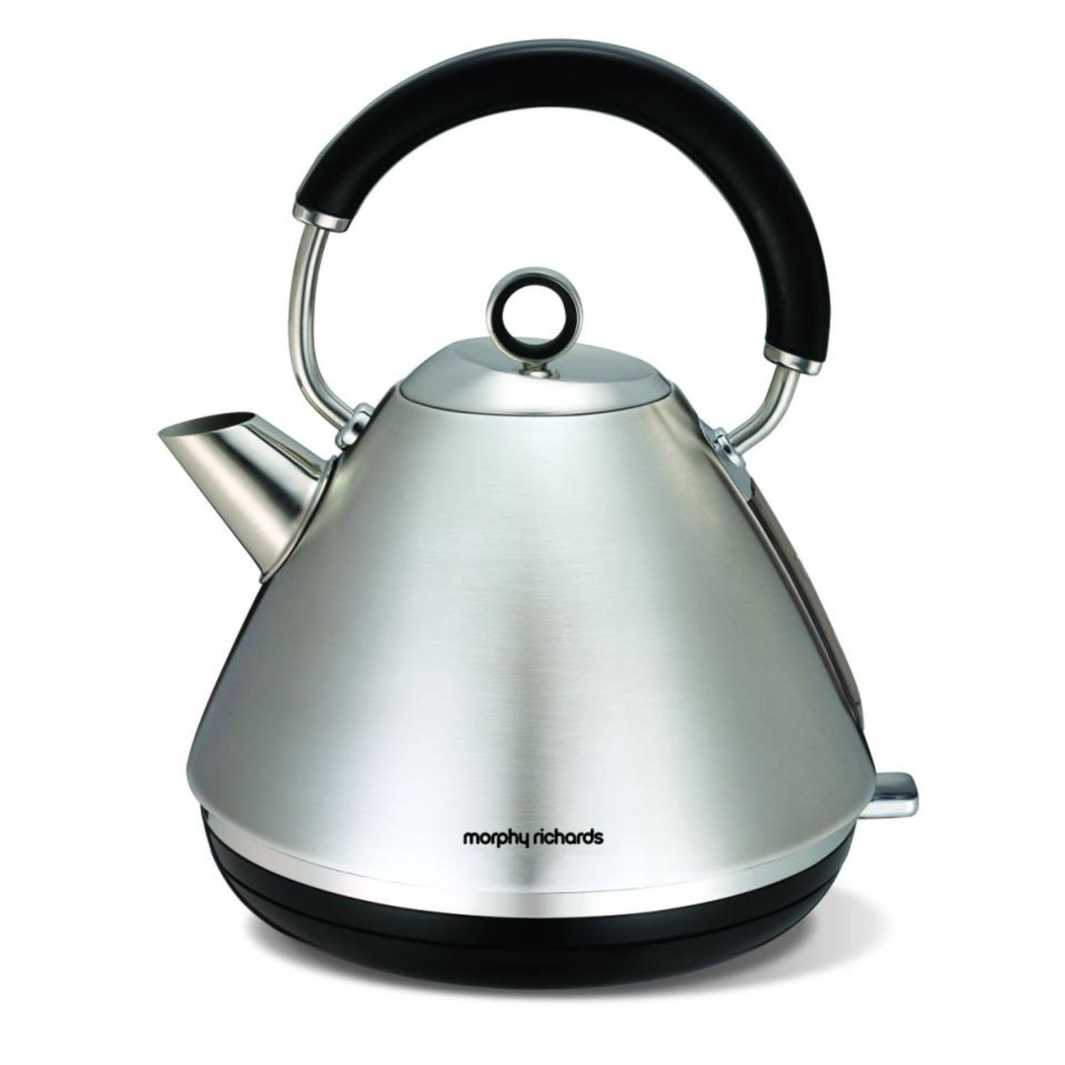 Morphy Richards waterkoker Retro Accents - RVS