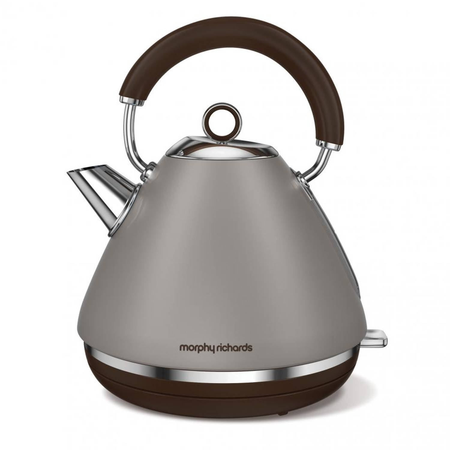 Morphy Richards waterkoker Retro Accents - taupe