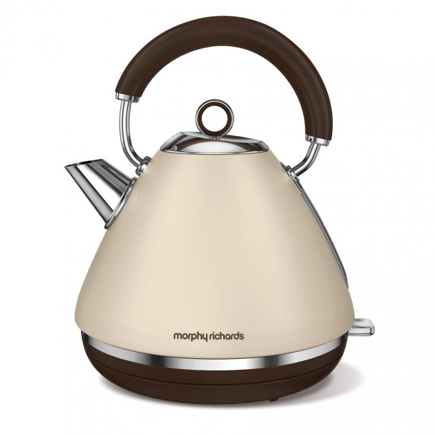 Morphy Richards waterkoker Retro Accents - zandkleurig