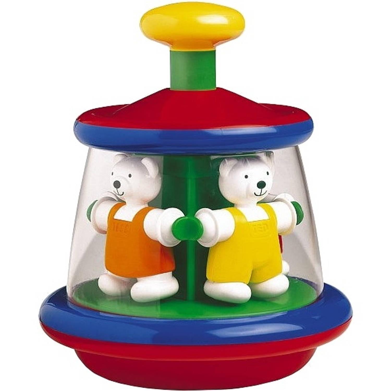 Afbeelding van Ambi Toys draaitol Ted en Tess 18 cm