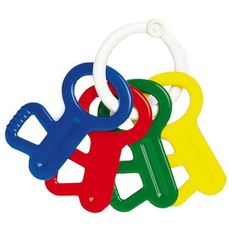 Afbeelding van Ambi Toys bijt- en rammelsleutels