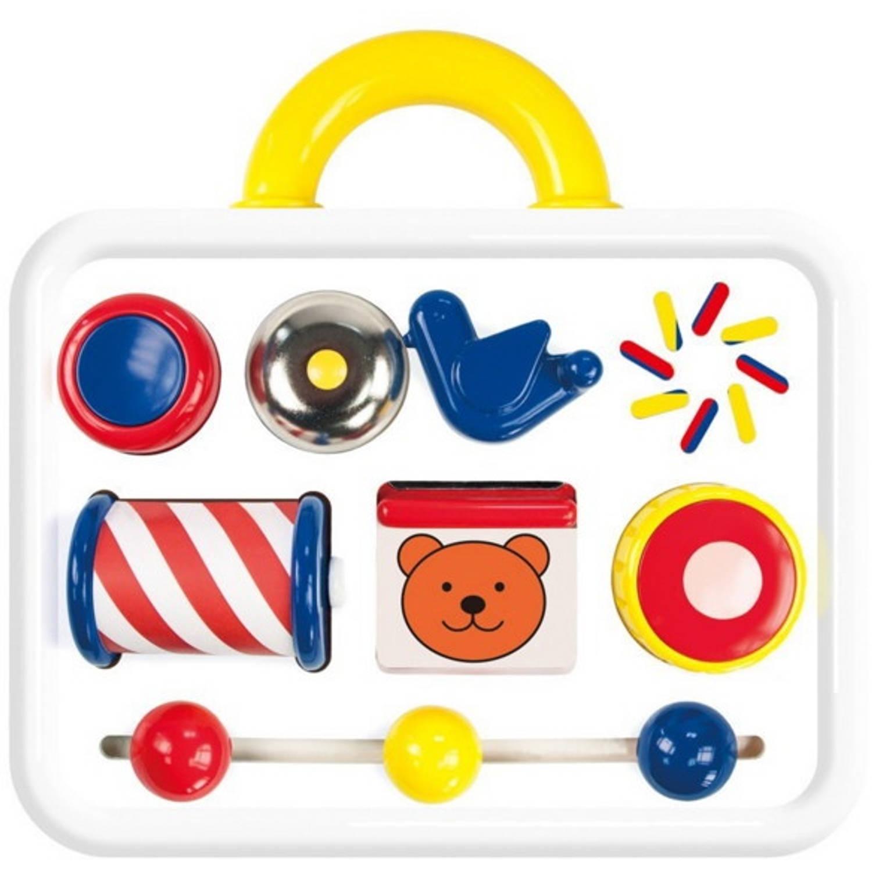 Afbeelding van Ambi Toys activiteitenkoffer 23 x 21 x 5 cm wit